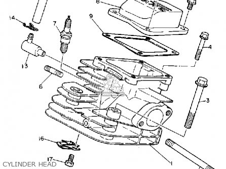 Yamaha Engine Ps Diagram Four Wheeler Engine Diagram
