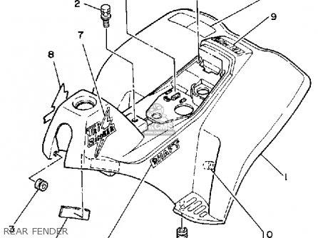 Yamaha Yt60ltri-zinger 1984-1985 parts list partsmanual
