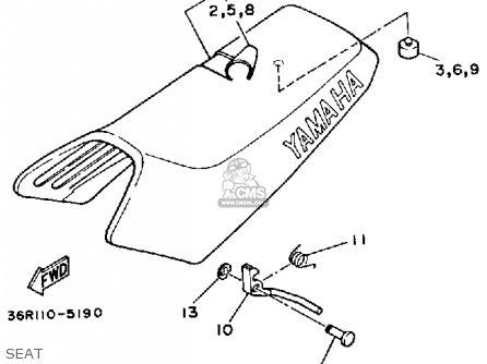 Yamaha Yt60ltri-zinger 1984-1985 Usa parts list