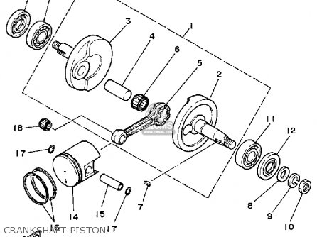 Yamaha Yt60n Tri-zinger 1984-1985 parts list partsmanual