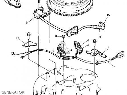 Yamaha Yt6800n 1989 parts list partsmanual partsfiche