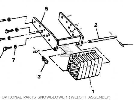 Yamaha Yt6800p Lawn Tractor 1990 parts list partsmanual