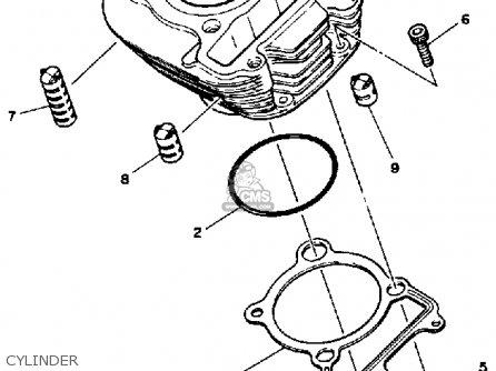 Yamaha Timberwolf 250 Engine Diagram, Yamaha, Free Engine