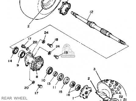 Yamaha YTM200EK 1983 parts lists and schematics