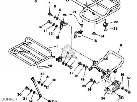 Yamaha Ytm200el 1983-1984 parts list partsmanual partsfiche