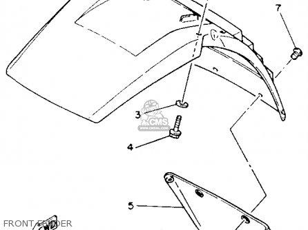 Yamaha YTM225DXK 1983 parts lists and schematics