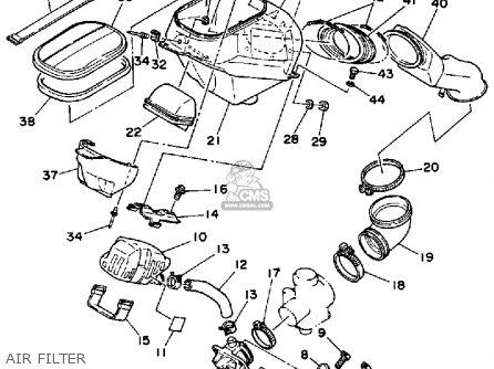 Yamaha YTZ250N 1985 parts lists and schematics