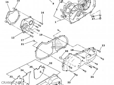 Yamaha Yw50r 2003 parts list partsmanual partsfiche