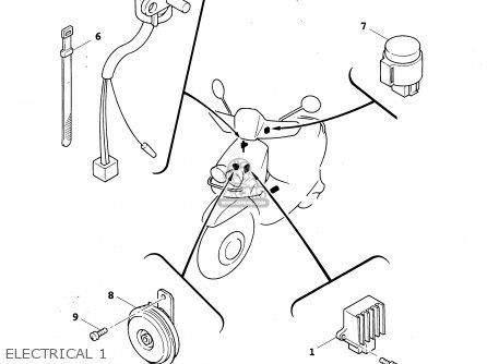 Yamaha YW50R 2003 parts lists and schematics