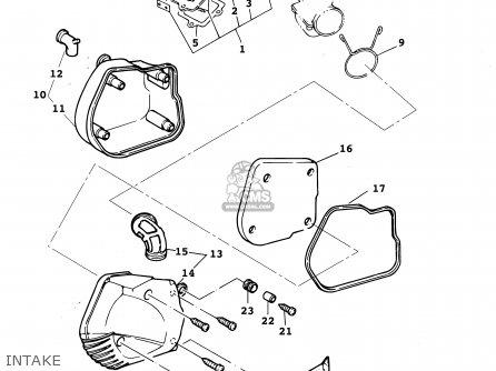 Yamaha Yw50r 2003 parts list partsmanual partsfiche