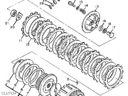 Yamaha YX600 RADIAN 1987 (H) USA parts lists and schematics