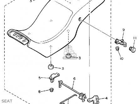 Yamaha YX600 RADIAN 1988 (J) USA parts lists and schematics