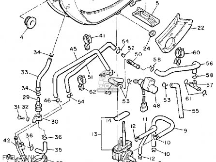 Yamaha 660 Engine Diagram Yamaha Banshee Engine Diagram