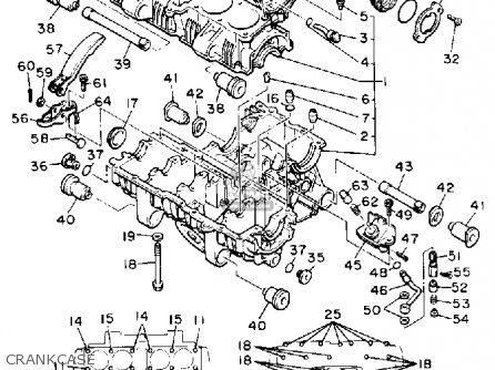 Yamaha Yx600 Radian 1990 (l) Usa parts list partsmanual
