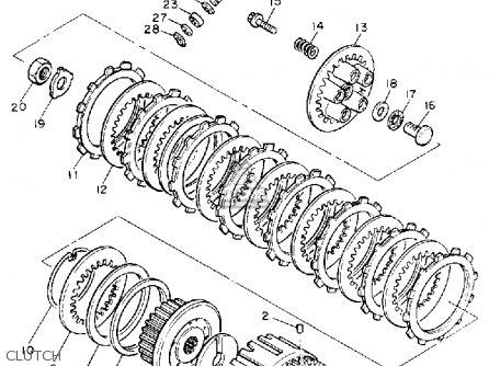 Yamaha Yx600a Radian 1990 parts list partsmanual partsfiche