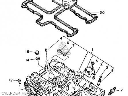 Yamaha Yx600sc Radian 1986 parts list partsmanual partsfiche