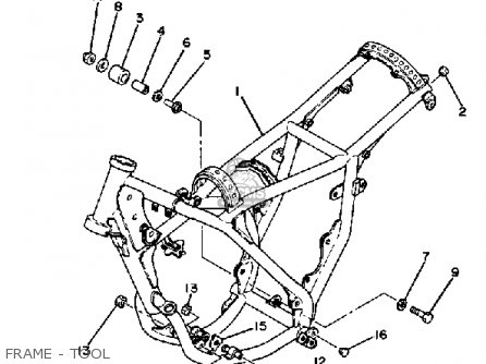 Yamaha YZ100 1982 (C) USA parts lists and schematics