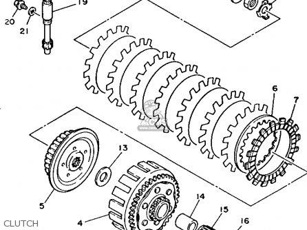Yz250 Engine Diagram YZ250 Retro Graphics Wiring Diagram