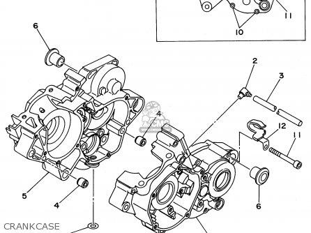 Yamaha Yz125-1 1996 (t) Usa parts list partsmanual partsfiche