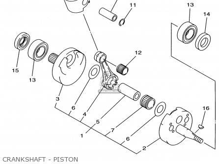 350 Engine Diagram Piston