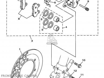 Yamaha YZ125-1 1996 (T) USA parts lists and schematics