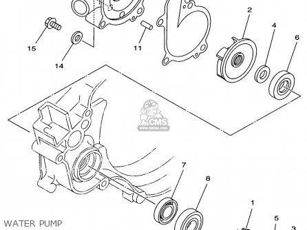 Yamaha YZ125-1 1998 (W) USA parts lists and schematics