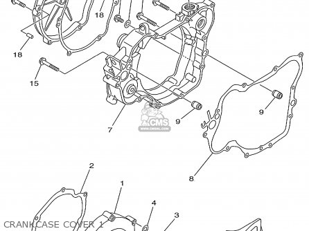 Yamaha Yz125-1 1999 (x) Usa parts list partsmanual partsfiche
