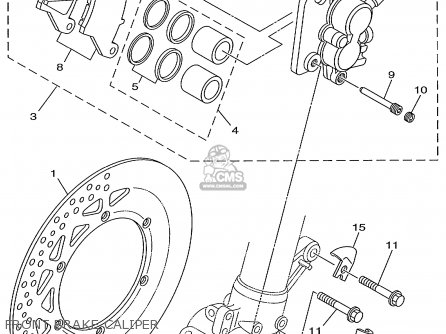 Yamaha YZ125-1 1999 (X) USA parts lists and schematics