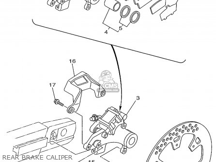 Yamaha Yz125-1 1999 (x) Usa parts list partsmanual partsfiche