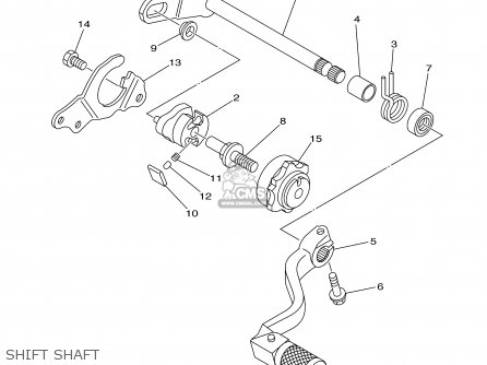 Yamaha YZ125-1 2001 (1) USA parts lists and schematics