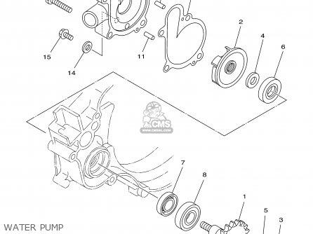 Yamaha Yz125-1 2001 (1) Usa parts list partsmanual partsfiche