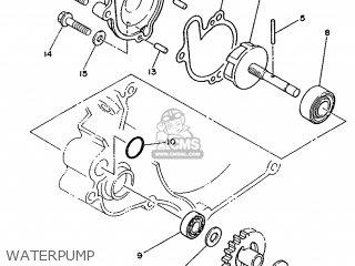 Yamaha YZ125 1986 1LX EUROPE 261LX-300E2 parts lists and
