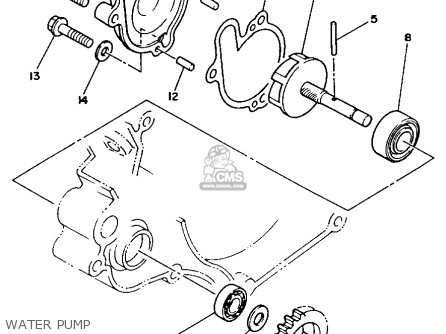 Yamaha YZ125 1989 (K) USA parts lists and schematics