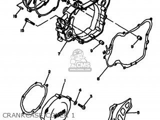 Yamaha YZ125 1994 4JY3 EUROPE 234JY-300E1 parts lists and