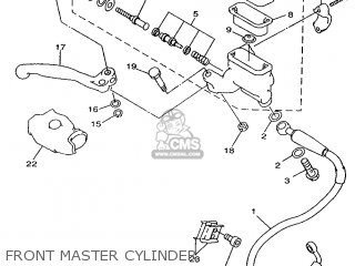 Yamaha YZ125 1998 5DH3 JAPAN 285DH-100E1 parts lists and