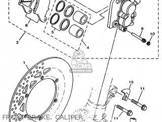 Yamaha YZ125 1999 5ET3 JAPAN 295ET-100E2 parts lists and
