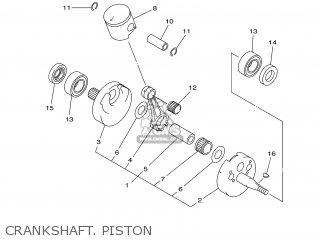 Yamaha YZ125 2000 5HD1 CANADA 105HD-100E1 parts lists and