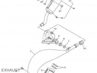 Yamaha YZ125 2000 5HD2 FRANCE 105HD-100E1 parts lists and