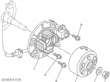 Yamaha Yz125 2002 (2) Usa parts list partsmanual partsfiche