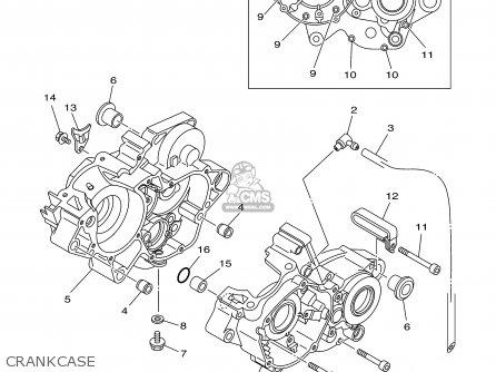 Yamaha YZ125 2003 (3) USA parts lists and schematics