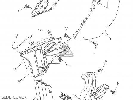 Yamaha Yz125 2003 (3) Usa parts list partsmanual partsfiche