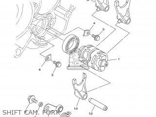 Yamaha YZ125 2003 5UN2 FRANCE 1B5UN-100E1 parts lists and