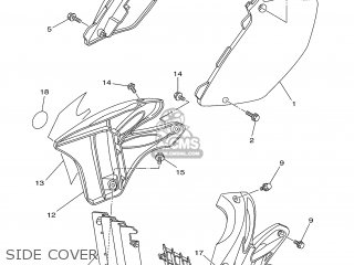 Yamaha YZ125 2005 1C33 JAPAN 1D1C3-100E2 parts lists and