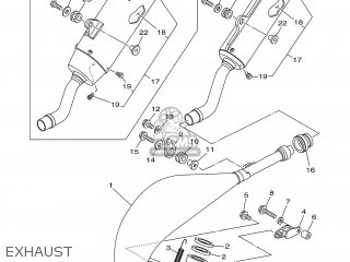 Yamaha YZ125 2007 1C3A EUROPE 1F1C3-100E1 parts lists and