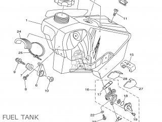 Yamaha Yz125 2008 1c3e Europe 1g1c3-100e1 parts list