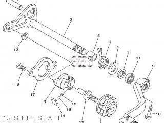 Yamaha YZ125 2009 1C3J EUROPE 1H1C3-100E1 parts lists and