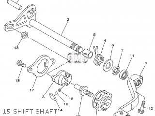 Yamaha YZ125 2014 1SRA EUROPE 1N1SR-100E1 parts lists and