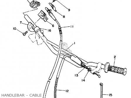 Yamaha Yz125 Competition 1990 (l) Usa parts list