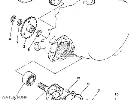 Yamaha YZ125 OFFROAD 1983 (D) USA parts lists and schematics