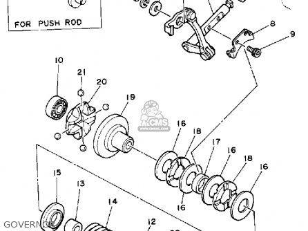 Yamaha Yz125d1 1992 parts list partsmanual partsfiche